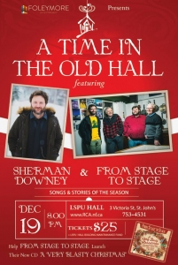 A Time In The Old Hall Poster