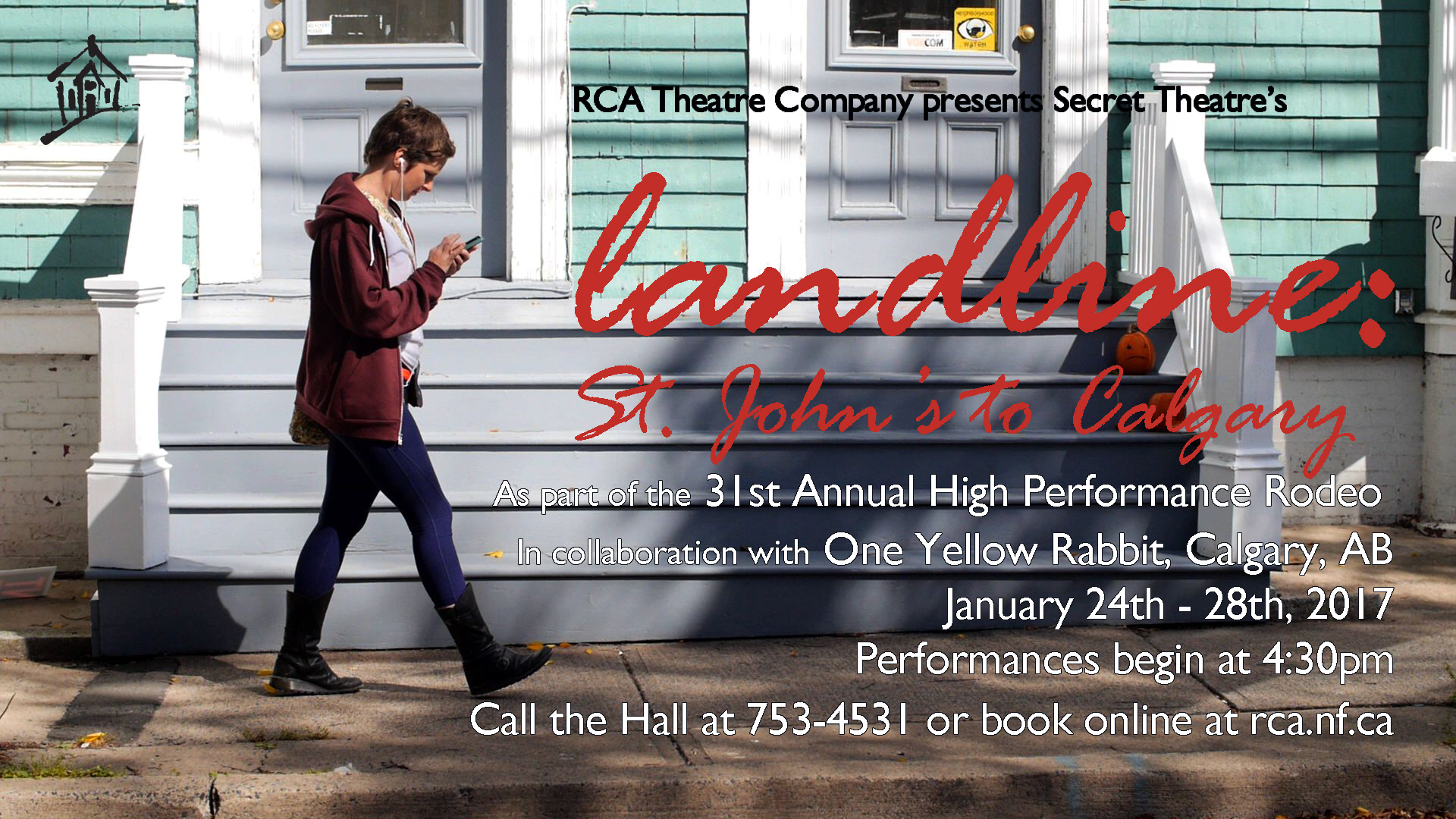 Resource Centre for the Arts RCA Theatre Company presents
