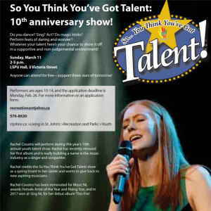 So You Think You Got Talent poster