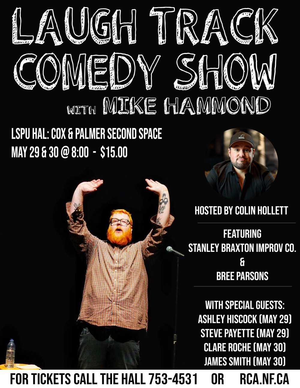 Laugh Track Poster small